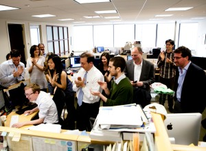 ProPublica se enfoca en periodismo de investigación. Para desarrollar proyectos de periodismo de datos recomiendan trabajo en equipo y multidisciplinario y mucha comunicación entre todos los participantes. Foto de Dan Nguyen/ProPublica